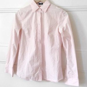 Pinstripe Button Down Collared Professinal Top